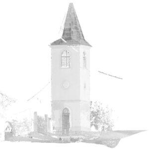 3D lézerszkenneres épületfelmérés