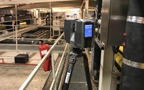 3D lézerszkennelés ipari környezetben