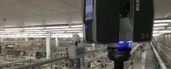 térszkenneres felmérés folyamata